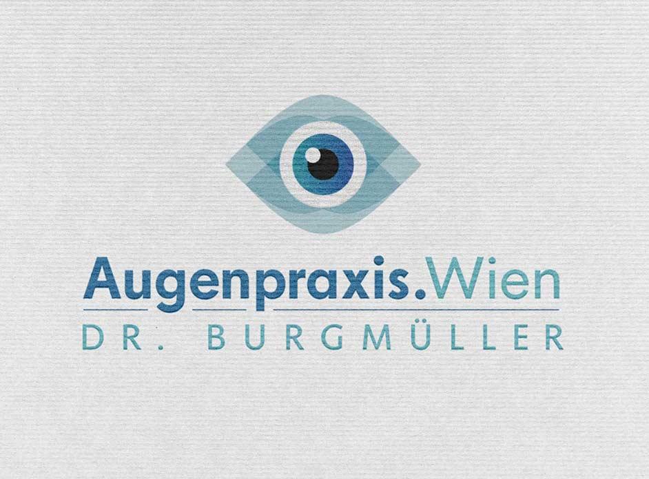 True Creative Agency Logo-Design Augenarzt Arztpraxis: Das Logo ist der wichtigste Bestandteil des Corporate Designs, da es eine Signalwirkung ausüben kann.