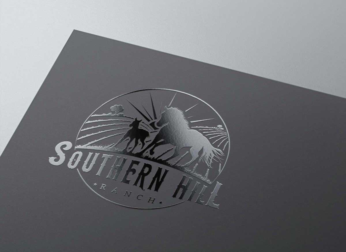 Logo Design, Firmenlogo, Logo-Design Wien, Logo Design Wien, Logo erstellen lassen, Logo Inspiration, Logo Pferd, Logo Stall, Southern Hill