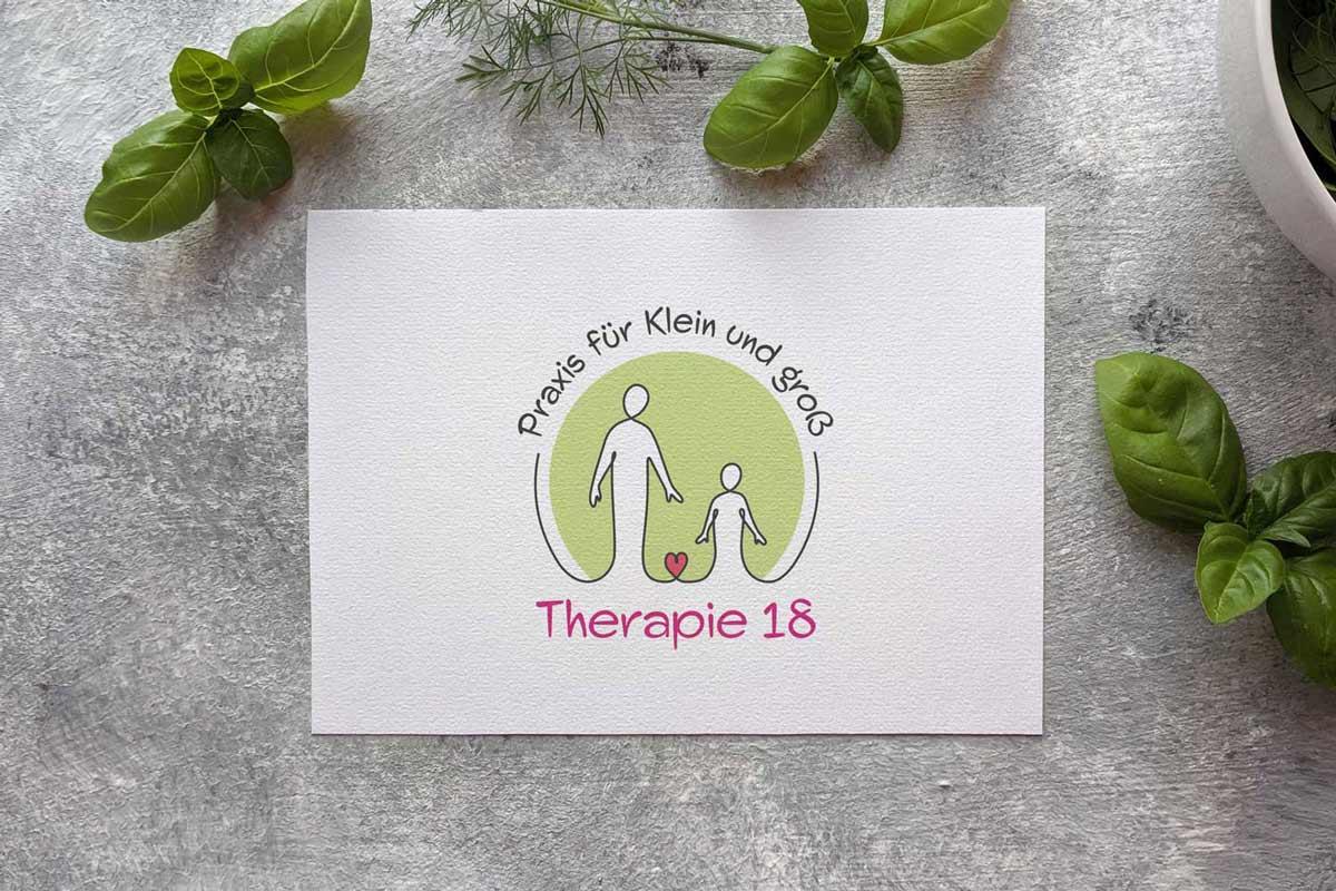 Logo Design, Firmenlogo, Logo-Design Wien, Logo Design Wien, Logo erstellen lassen, Logo Inspiration, Logo Psychotherapie, Logo Therapie 18