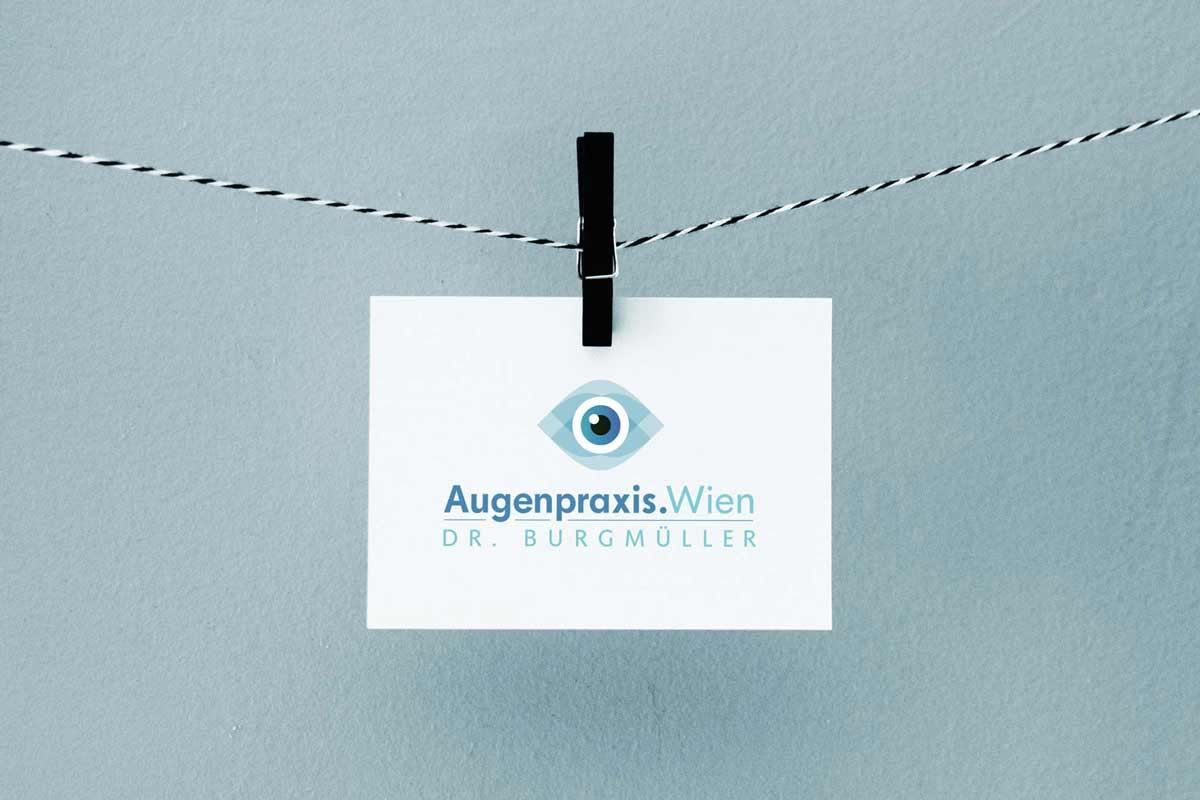 Logo Design, Firmenlogo, Logo-Design Wien, Logo Design Wien, Logo erstellen lassen, Logo Inspiration, Logo Arzt, Logo Augenarzt, Logo Augen, Augenpraxis Wien