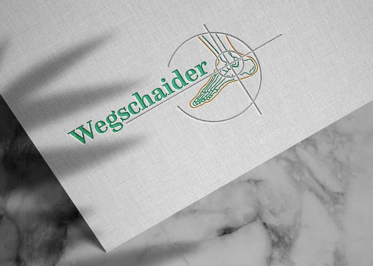 Logo Design, Firmenlogo, Logo-Design Wien, Logo Design Wien, Logo erstellen lassen, Logo Inspiration, Logo Orthopäde, Wegschaider, Logo Mödling